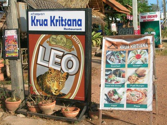 Escape-Cabins: Krua Kritsana - Restaurant - 3 Minuten zu Fuß entfernt