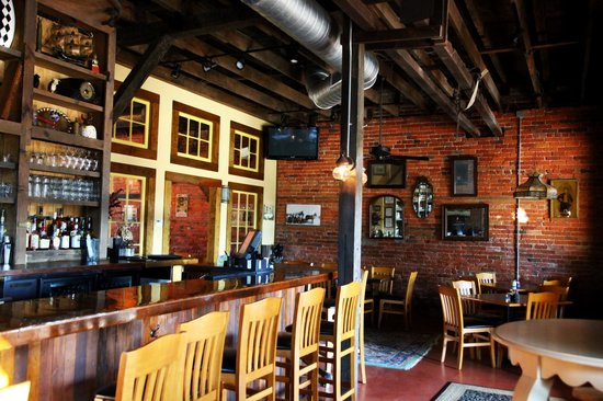 Plank Road Steak House: Back Room/Bar Area
