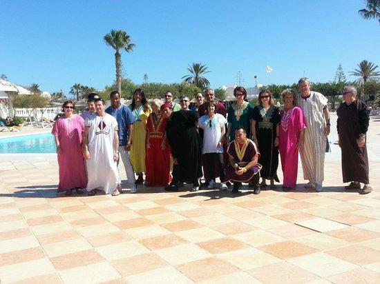 Nouvelles Frontieres Hotel-Club Le Djerba:                   que du bonheur défilé de mode journée Tunisienne