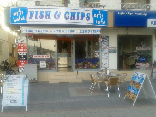 Arty's Fish And Chips: One and only chippy in Fethiye