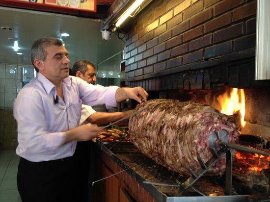 Sehzade Cag Kebap:                                     Cag kebab