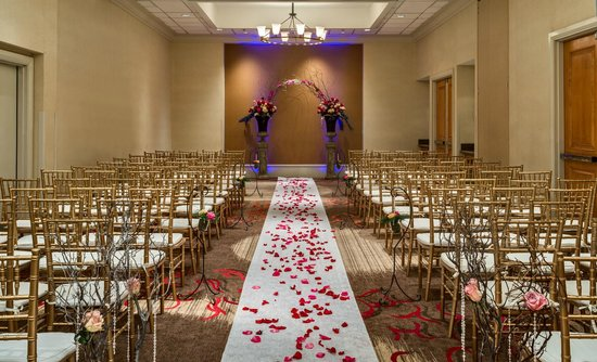 Hilton Santa Clara Wedding Ceremony