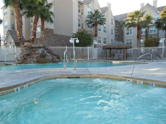 Residence Inn Las Vegas South:                   Pool area