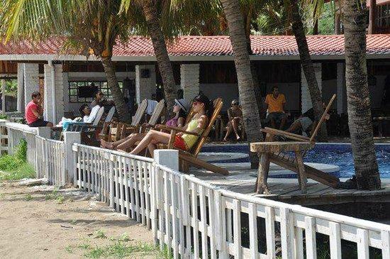 Hotel Anamar: Sand & Deck