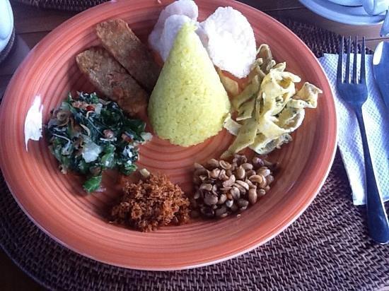 Villa Orchid Bali:                   Das Frühstück