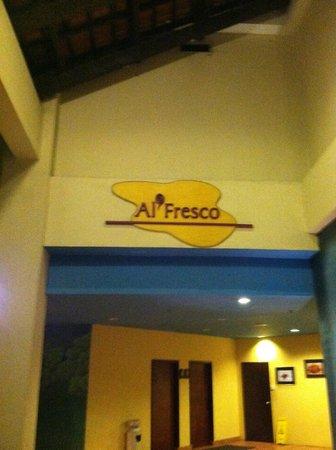 Al Fresco:                   name