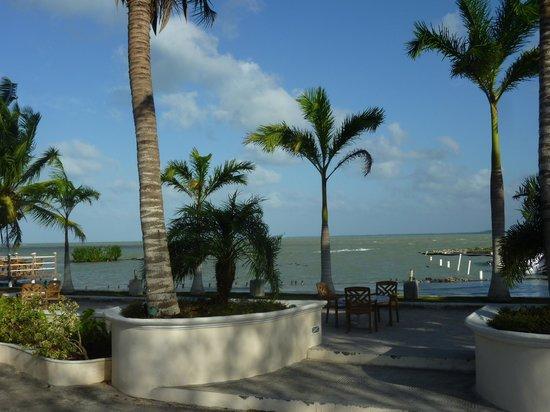 Tony's Inn & Beach Resort:                   view from Tonys Inn Corozal Belize