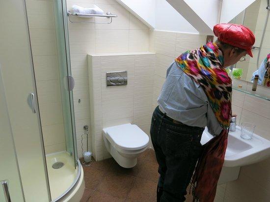 Bristol Hotel: Badezimmer in der 3.Etage