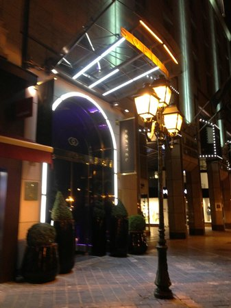 Sofitel Brussels Le Louise:                   FRONT OF HOTEL