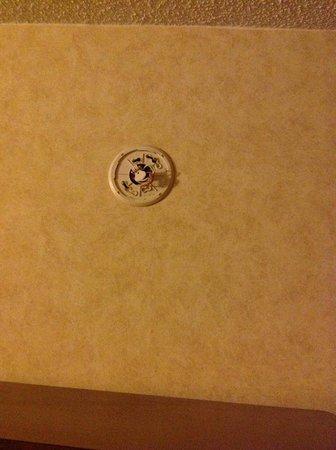 Sheridan Hotel:                   NO Smoke Detector