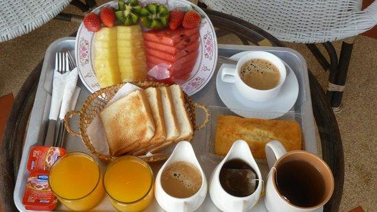 Lamai Beach Residence :                   le petit déjeuner : une merveille