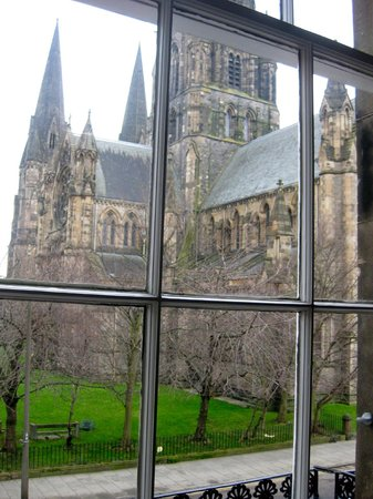 Number 29:                   View of St Mary's Cathedral from Room #1