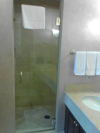 Sit down shower with dual shower heads. - Picture of JW Marriott Las ...
