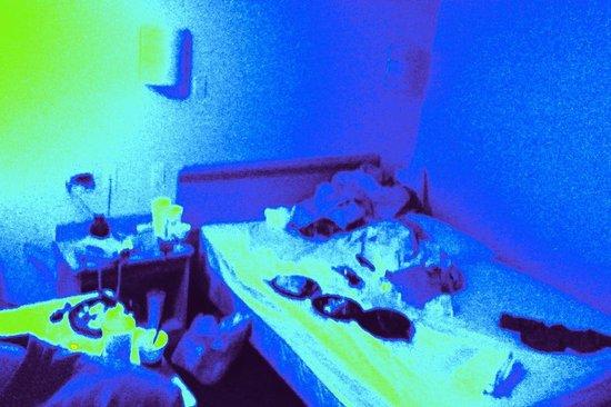 Blacklight Hotel Room Inspection