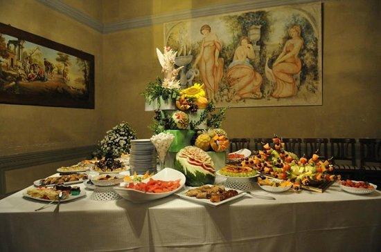 Subbiano, Italien: Buffet di dolci