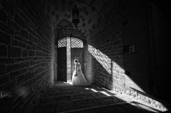 Castello di Valenzano: Scalinata interna - Foto Agresti