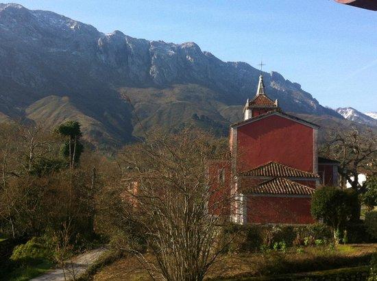 Hotel rural Arpa de Hierba:                   Vista desde la habitación nº1.