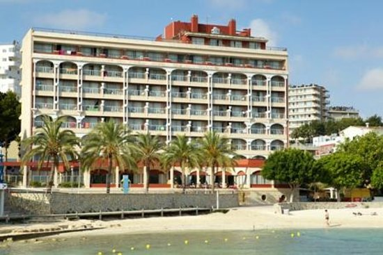 Hotel Seramar Comodoro Playa: Fachada Frontal Hotel