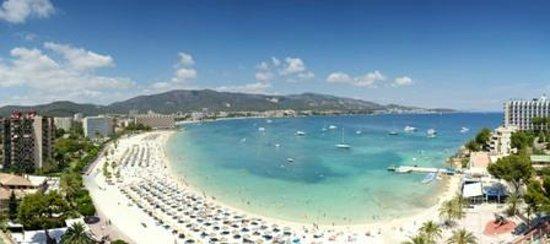 Hotel Seramar Comodoro Playa: Vista Playa desde Terraza Habitación