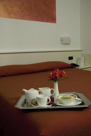Hotel Bareta: Camera superior rossa
