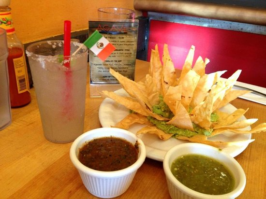 Agave Taco:                   The best chips and salsa in town!