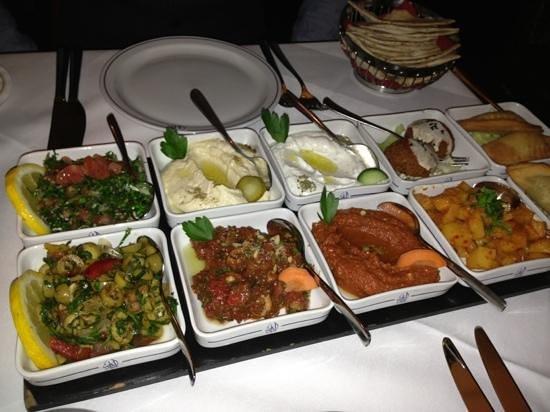 Al Dar:                   starter of Syrian vegetarian journey