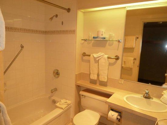 Manning Park Resort: Badezimmer