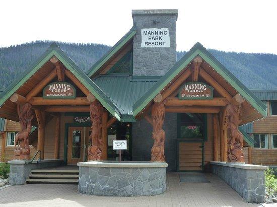 Manning Park Resort: Eingang
