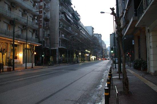 Novus City Hotel:                   otelin bulunduğu sokak