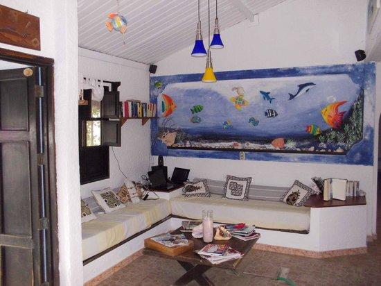 Posada Acuario:                   Area soggiorno/relax