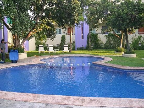 Aurea Hotel and Suites:                   La piscina