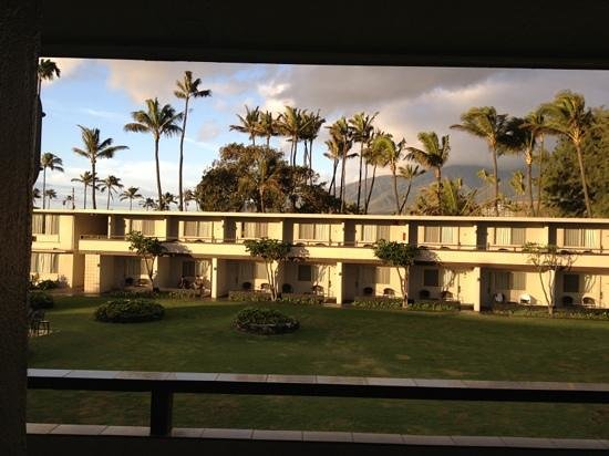 Maui Seaside Hotel:                   across from our room