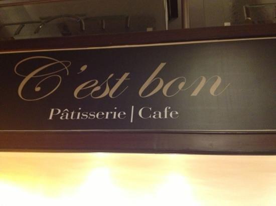 C'est Bon :                   A stylish entry.