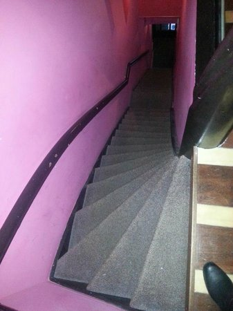 NL Hotel District Leidseplein:                   The staircase