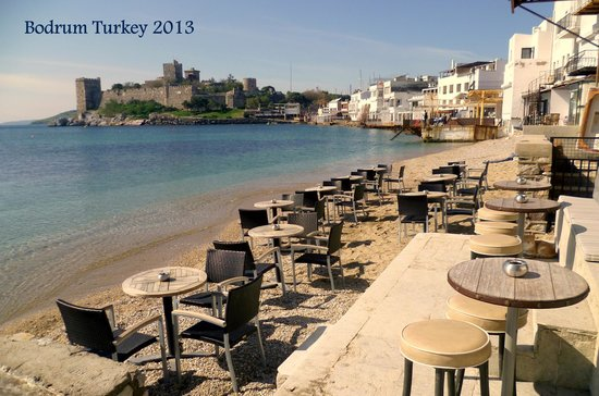 Bodrum City, Turkey:                                     beach