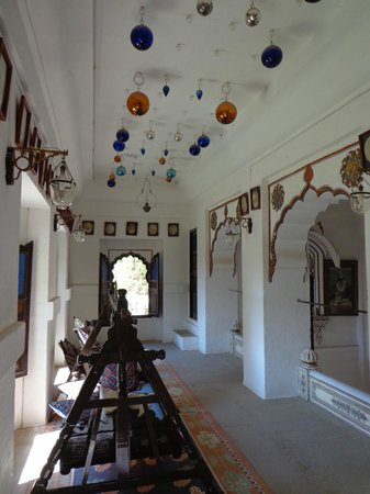 Fort Chanwa:                   the reception hall mezzanine