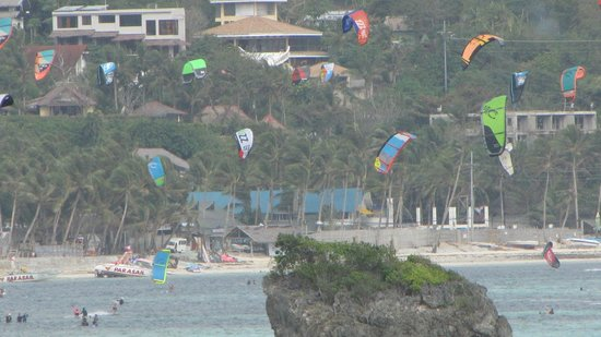 Monaco Suites de Boracay:                                     View from room