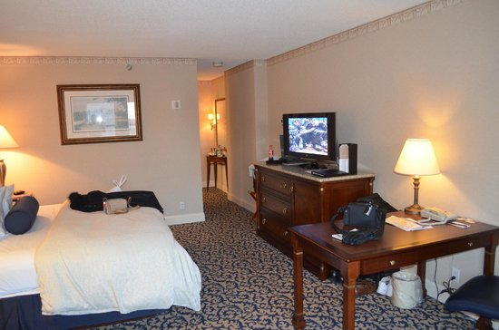 The Franklin Hotel at Independence Park :                   King suite
