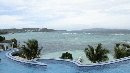 Monaco Suites de Boracay :                                     view from room