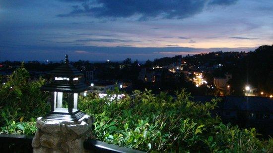 Boomerang Village Resort:                   Vista dalla terrazza del ristorante