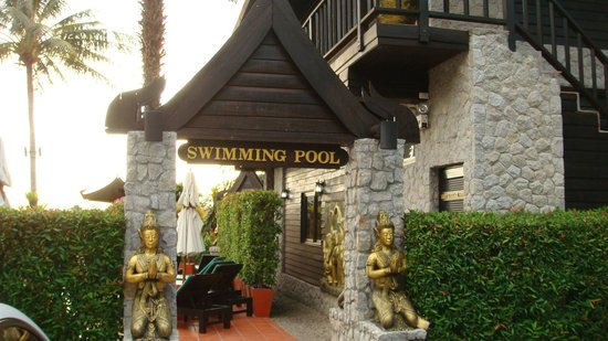 Boomerang Village Resort:                   Ingresso piscina