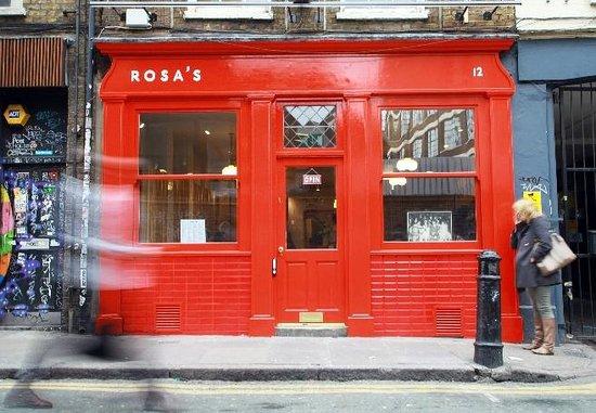 Rosa's Thai Cafe Spitalfields