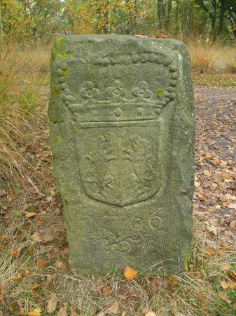 Zwillbrocker Venn:                                     Old border stone