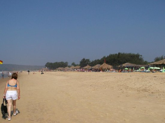 Santiago Beach Resort:                   Baga beach
