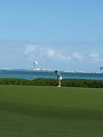 Beloved Playa Mujeres:                   Playa Mujeres Golf Course