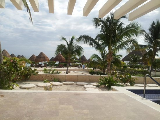 Beloved Playa Mujeres:                   Patio View/1st Floor Casita Suite w/private pool