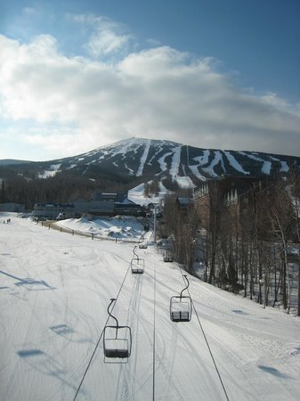 Sugarloaf Mountain:                   View from Snubber Lift