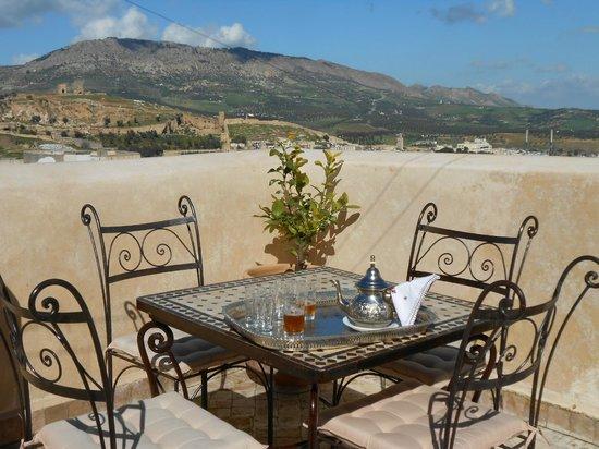 Riad Fez Yamanda: Terrasse