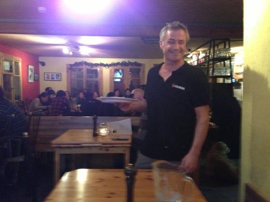 Sparky's Bar & Restaurant :                   Sparky himself