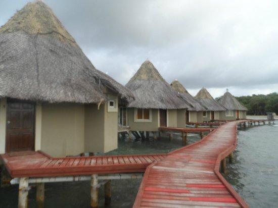 Coral Lodge:                   Habitación